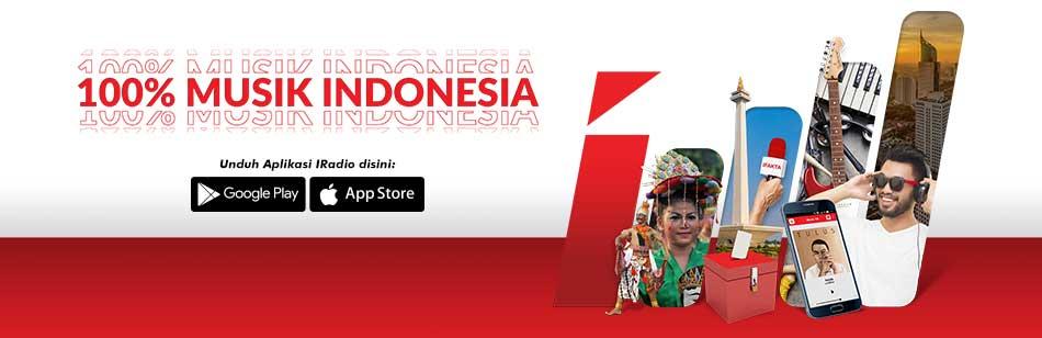 Radio Jakarta_Iradio 100 Persen Musik Indonesia